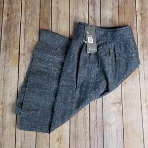 Eileen Fisher Hemp & Organic Cotton Skirt sz Large